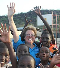 U.S. Fund for UNICEF C.E.O. Caryl M. Stern, Kenya field visit.jpg