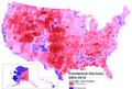 U.S. Presidential election margin, 2004-2016.png
