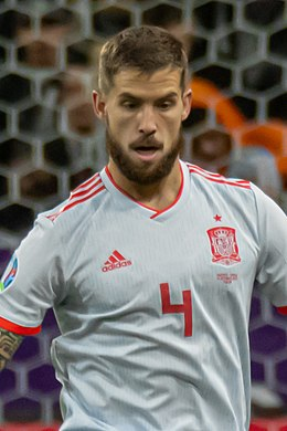 UEFA EURO qualifiers Sweden vs Spain 20191015 Inigo Martinez (cropped).jpg