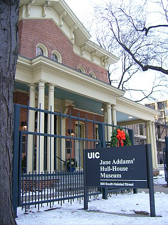 University of Illinois at Chicago - Jane Addams' Hull-House Museum