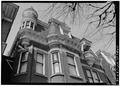 UPPER STORIES OF EAST FRONT - Gregor Ackermann House, 2319 Chapline Street, Wheeling, Ohio County, WV HABS WVA,35-WHEEL,16-6.tif