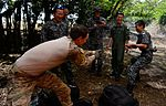 US, Japanese Airmen conduct survival training during Cope North 16 160216-F-CH060-364.jpg