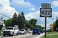 US422 East Sign - Welshfield Ohio (29773640528).jpg