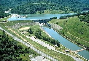 Burnsville Lake - Lake and Dam