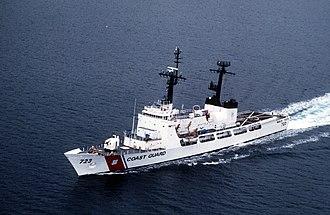 Hamilton-class cutter - Image: USCGC Rush WHEC 723