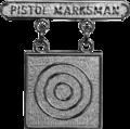 USMC Pistol Marksman badge.png