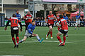 USO - Saracens - 20151213 - Quentin Etienne Lecoq facing by Chris Ashton.jpg