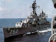 USS Alfred A. Cunningham (DD-752) underway c1969