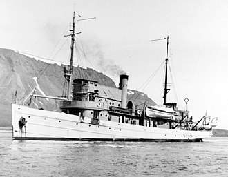 Rescue and salvage ship - Image: USS Discoverer (ARS 3)