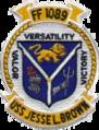 USS Jesse L. Brown (FF-1089) Crest.png
