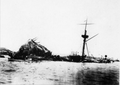 USS Maine wrecked in Havana Bay.png