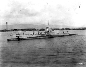 USS R-1 at Pearl Harbor, c. 1923-1930