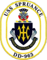 USS Spruance DD-963 Crest.png