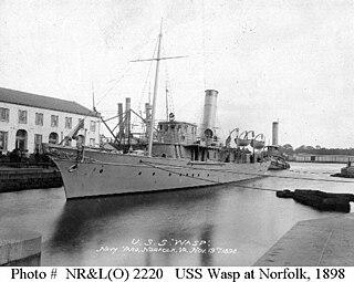 USS <i>Wasp</i> (1893) 1898 armed yacht