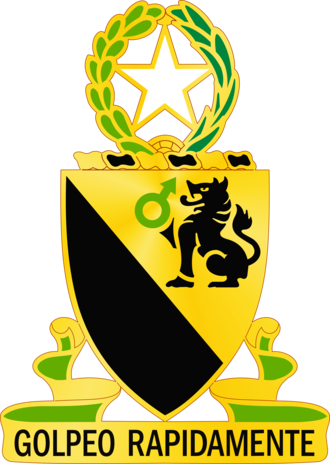 124th Cavalry Regiment (United States) - Image: US Army 124th CAV REGT DUI