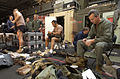 US Navy 030317-N-5319A-006 Members of Commander Task Unit 55.4.3 (CTU-55.4.3) prepare survival gear for diving operations.jpg