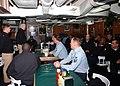 US Navy 060213-N-1550W-002 Commander, Strike Force Training Atlantic (STRKFORTRALANT), Rear Adm. Richard O'Hanlon, speaks with a group Sailors.jpg