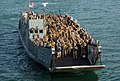 US Navy 071013-N-5307M-031 Landing Craft Unit 1653, attached to Marine Expeditionary Unit 22, prepares to embark aboard dock landing ship USS Gunston Hall (LSD 44).jpg