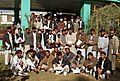 US Navy 071121-O-0000X-001 Khost University professors and students pose for a group picture after one of many seminars held by Provincial Reconstruction Team Khost during the course of their deployment in Afghanistan.jpg
