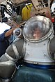 US Navy 100823-N-9204B-016 A Navy diver waits patiently inside an atmospheric diving suit (ADS) while technicians conduct safety checks before deploying the ADS during Pacific Reach 2010.jpg