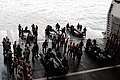 US Navy 110225-N-1911J-135 Sailors and Marines assist Soldiers from the Japan Ground Self-Defense Force in launching rigid-hull inflatable boats fr.jpg