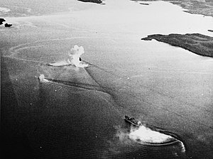 Operation Leader - The tanker Schleswig and the minesweeper M 365 under attack