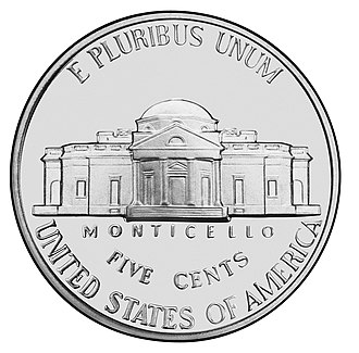 Coins of the United States dollar - Image: US Nickel Reverse