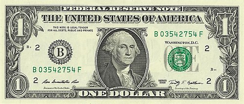 United States one-dollar bill