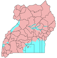 Map of Kalangala District