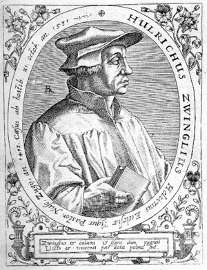 Nederlands: Huldrych Zwingli