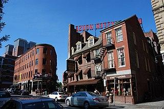 Blackstone Block Historic District United States historic place