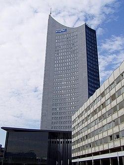 City-Hochhaus Leipzig.