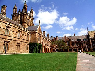 Quadrangle (architecture) - Quadrangle of University of Sydney
