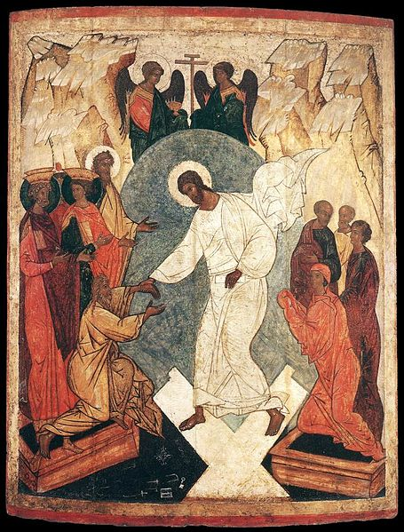 File:Unknown painter - Resurrection of Christ and the Harrowing of Hell - WGA23499.jpg