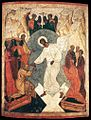 Unknown painter - Resurrection of Christ and the Harrowing of Hell - WGA23499.jpg