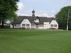 Uppingham School - The school cricket pavilion, built as a war memorial