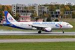Ural Airlines, VP-BQW, Airbus A320-214 (36970164184).jpg