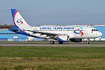 Ural Airlines, VP-BTE, Airbus A319-112 (15836205483) (2).jpg