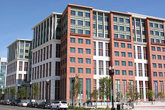 Navy Yard, Washington, D.C. - New United States Department of Transportation (USDoT) headquarters on New Jersey Avenue, SE