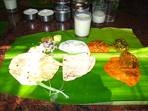 Cuisine of Karnataka - North Karnataka meal