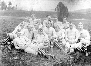 Virginia Tech Hokies football - Virginia Tech's inaugural football team in 1892.