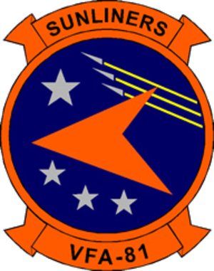 Carrier Air Wing One - Image: VFA 81insignia