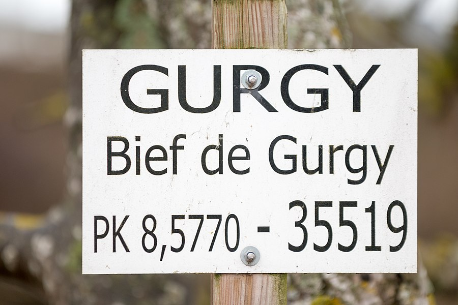 ID from the VNF (Navigable Waterways of France): the canal race of Gurgy merges with the natural course of the Yonne river