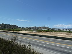 Castaic Junction as viewed from SR 126