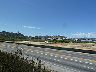 Castaic Junction, California - Castaic Junction as viewed from SR 126