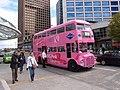 Vancouver Pink Bus Tours, Canada Place, 30 April 2011.jpg