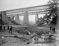 Vasúti viadukt az 1931. szeptember 13-i merénylet után. Fortepan 4308.jpg