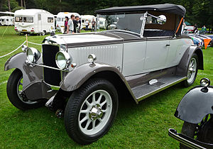 Vauxhall 20-60 - R-type Melton open 2-seater 1928 with dickey seat