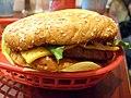 Veggie burger flickr user spencercross creative commons.jpg