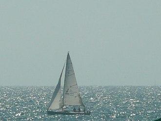 Bahía de Banderas - Boat on the Bahía de Banderas (Bay of Flags).